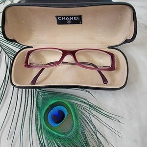 Authentic Chanel Rectangle Eye Glasses